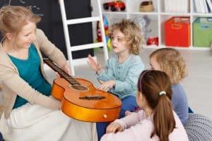 Gust muzyczny dziecka kształtuje się przez całe życie