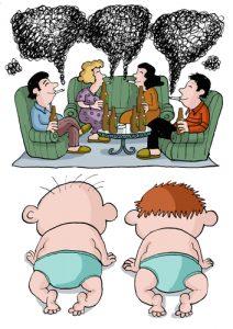 palenie przy dziecku
