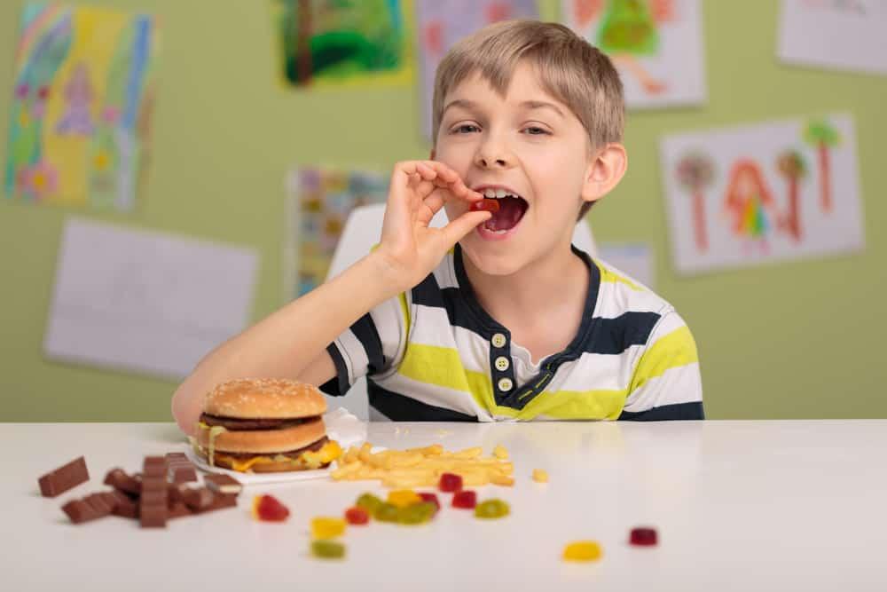 Wpływ jedzenia na psychikę dziecka