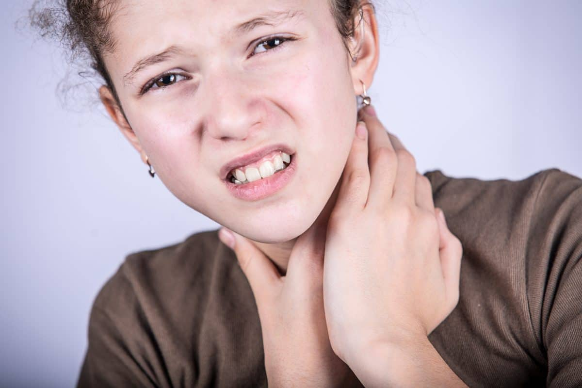 Zapalenie gardła i migdałków
