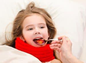 Zapalenie gardła może być wywołane suchym powietrzem.