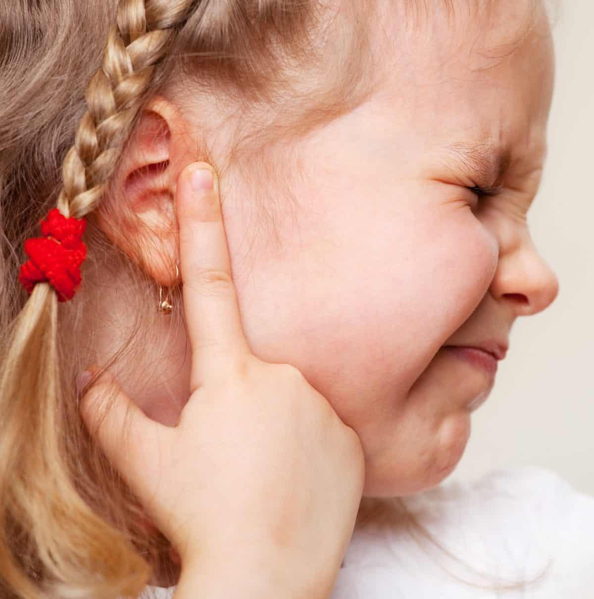 Nawracające zapalenie uszu