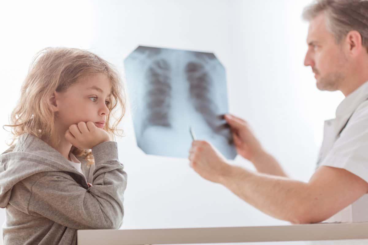 Rentgen płuc to najważniejsze badanie w pulmonologii.